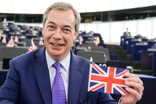 Nigel Farage hooks endangered fish