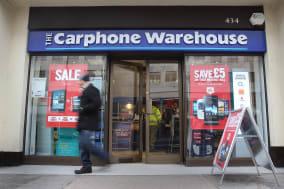 Carphone Warehouse stock