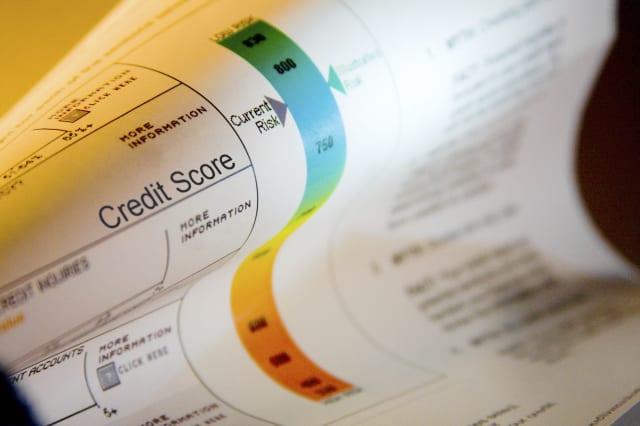 credit score chart diagram graph bar credit score rating paper document print financial bad credit good credit