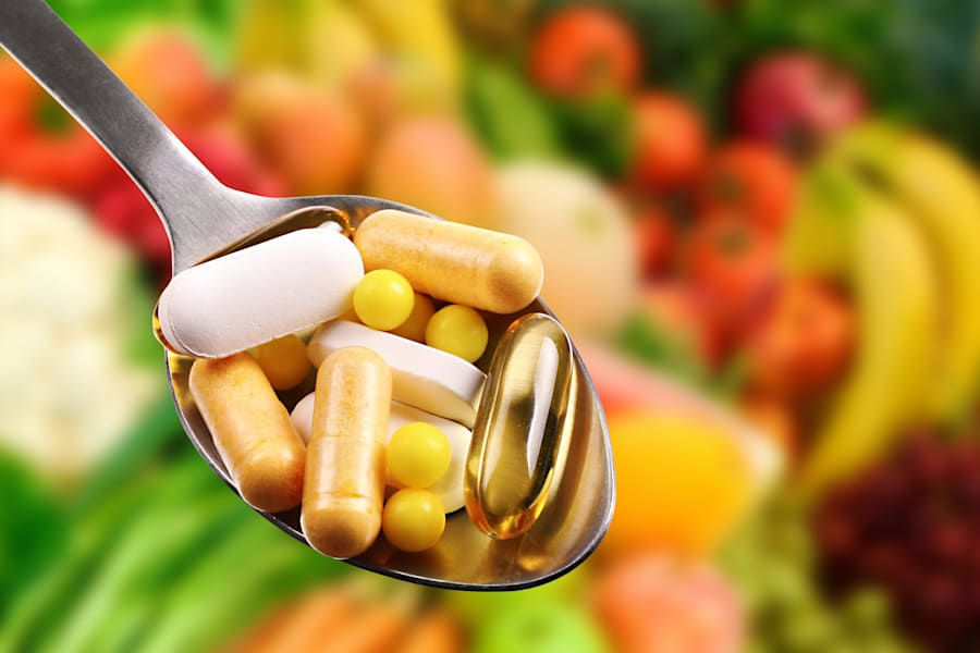 Vitamin supplements don't replace whole
