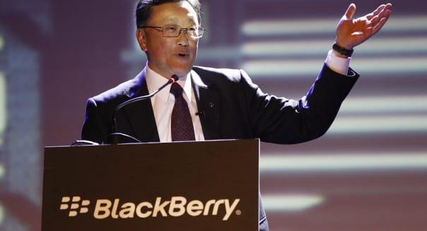 BlackBerry earnings