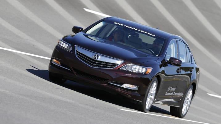 Acura 10-speed transmission mule