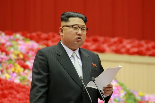 North Korean leader Kim Jong Un in December last