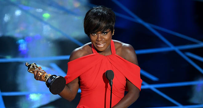 Viola Davis's speech was its own August Wilson play