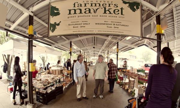 Ann Arbor Famer's Market