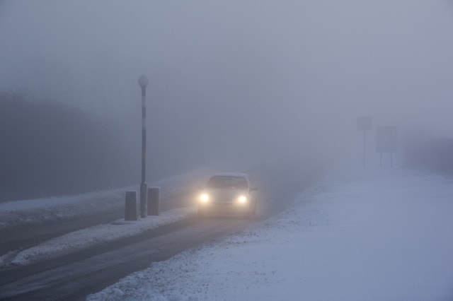 Travel warnings as freezing fog and -8C temperatures forecast