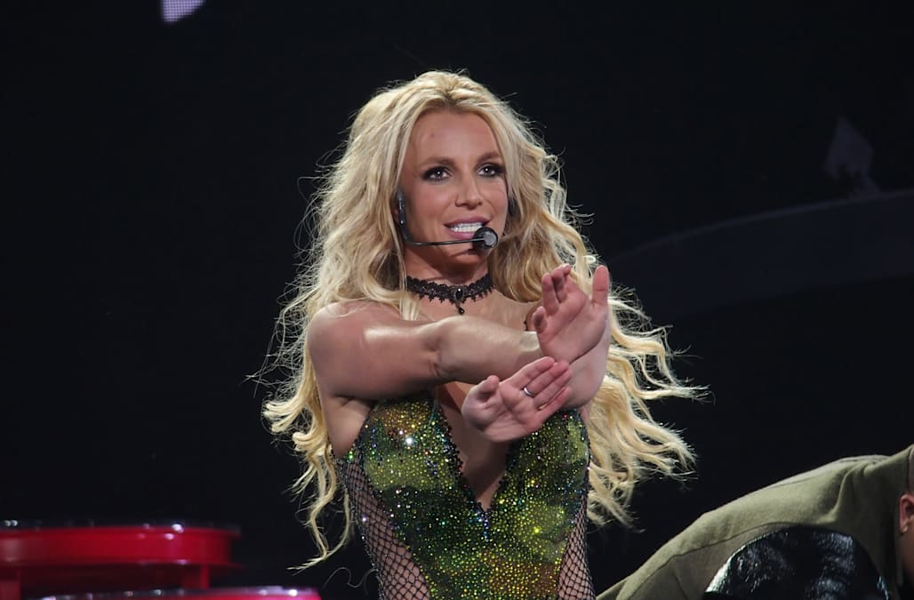 Britney Spears at the Planet Hollywood Resort & Casino in Las Vegas