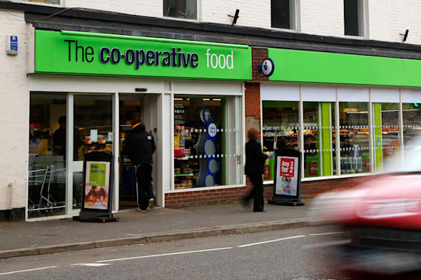 Co-Operative Food shop