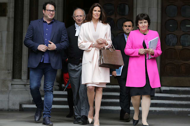 BRITAIN-SAUDI-COURT-DIVORCE