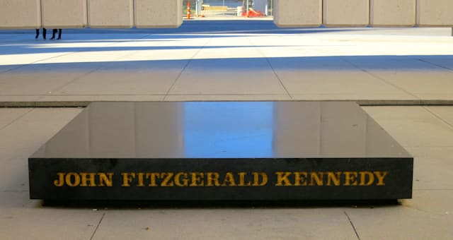 Inside JFK Memorial