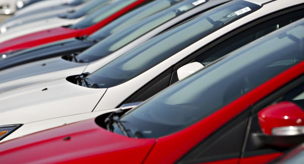 Inside A Car Dealership Ahead Of Motor Vehicle Sales Figures