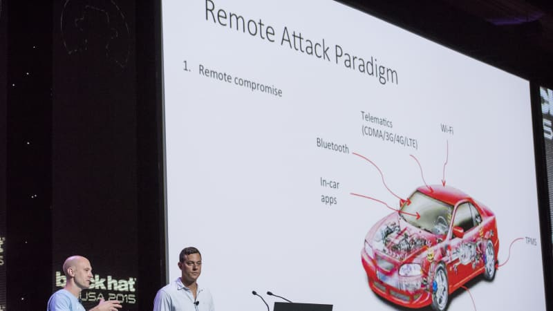 Remote Exploitation Of An Unaltered Passenger Vehicle At The Black Hat Conference