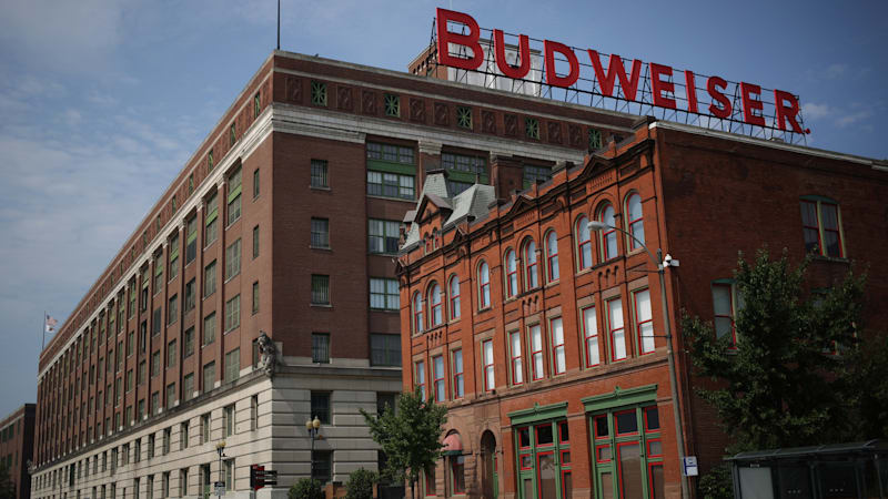 Operations Inside The Anheuser-Busch InBev Budweiser Bottling Facility Ahead Of Earnings Figures