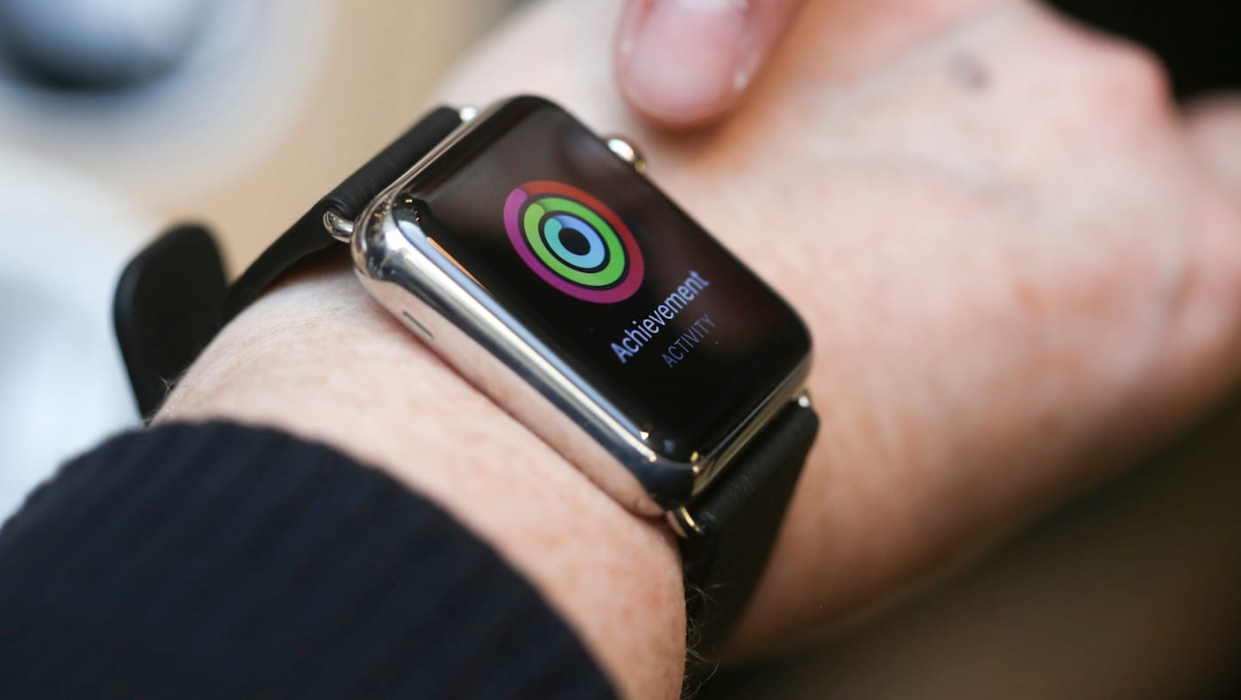Apple Watch Goes On Display At Apple Inc. Stores Ahead Of Sales Launch