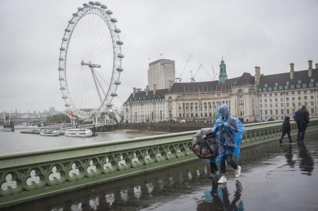 Rain Heralds The First Day Of British Summer