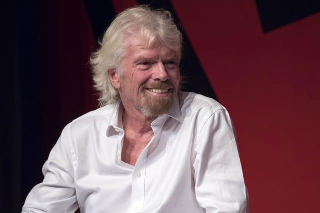 Sir Richard Branson sends hen do thrown off flight to Las Vegas
