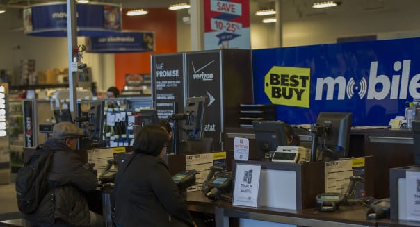 Inside A Best Buy Store Ahead of Earnings Figures