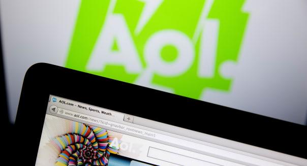 The AOL Homepage Ahead Of Earnings Figures