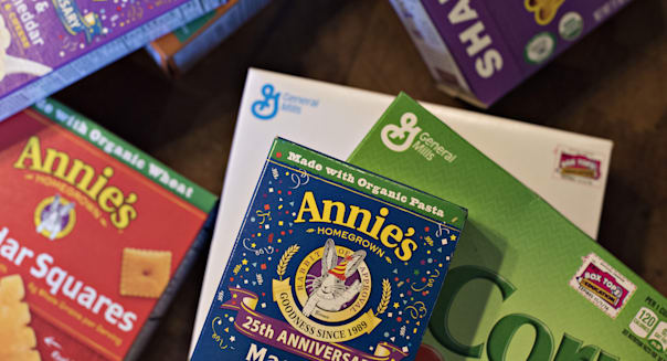 General Mills To Buy Organic-Food Maker AnnieÃs For $820 Million