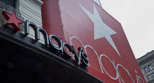 Inside Macy's Flagship Store Ahead of Earnings Figures