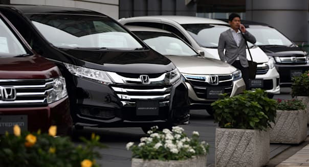 Honda Motor Co. Headquarters And Cars As Air-Bag Deaths Draw Congress Scrutiny As Recalls Widen