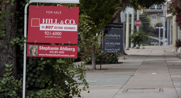 Properties As Existing Home Sales Figures Are Released