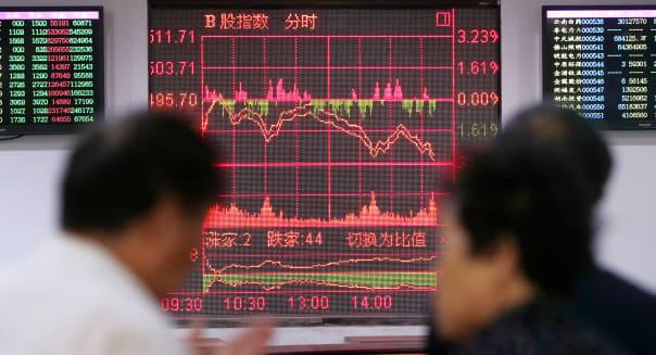 CHINA-STOCKS-PLUNGE (CN)