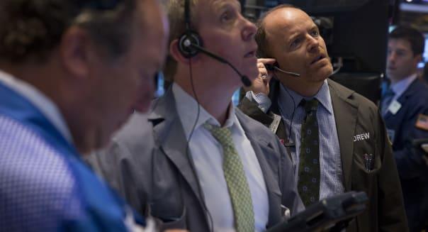 U.S. Stocks Fall After Debt Deal as IBM, Goldman Tumble