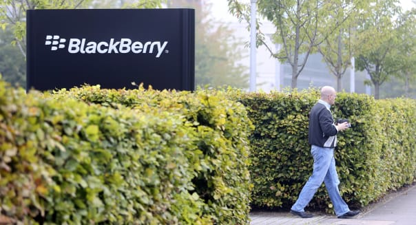 BlackBerry Ltd Smartphones And U.K. Headquarters As $4.7 Billion Dollar Buyout Deal Agreed With Fairfax Financial Holdings Ltd