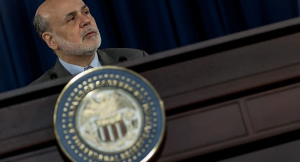 Fed Chairman Bernanke News Conference Following FOMC Rate Decision