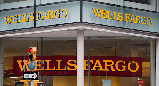 A Wells Fargo Bank Branch Ahead Of Earnings Figures