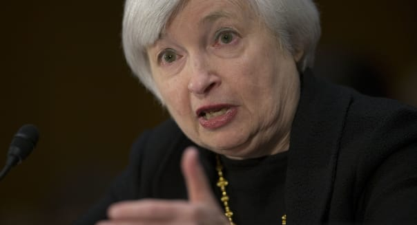 Janet Yellen Testifies At Senate Banking Committee Nomination Hearing For Fed Chairmanship