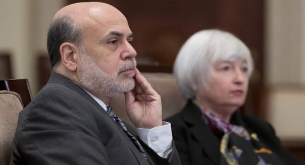 Fed Board of Governors Meet On Volcker Rule