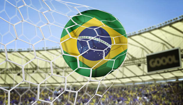 amazing soccer goal of brazil