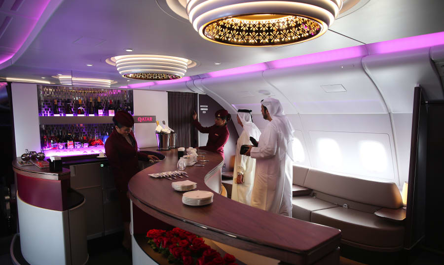 Qatar Airways is known for its high level of