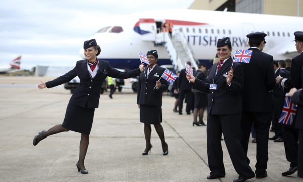 British Airways Speeds Airbus A380 Rollout As First Jet Arrives