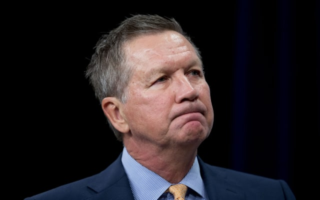 U.S. Hispanic Chamber Of Commerce Conversation With Presidential Candidate John Kasich