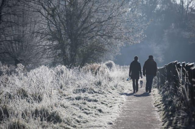 Britain Wakes Up To Sub Zero Temperatures