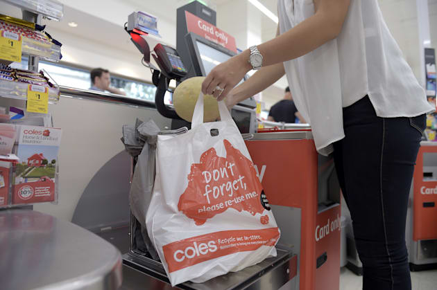 Woolworths And Coles Will Ban Single-Use Plastic Bags From Next