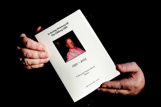 Pat Eddery Funeral