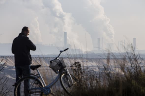When fossil fuels are burned, some carbon goes into the atmosphere but some goes into the ocean, and