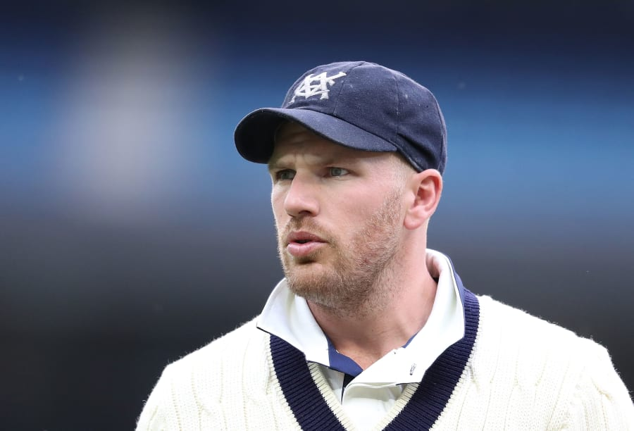 Finch playing for Victoria earlier this