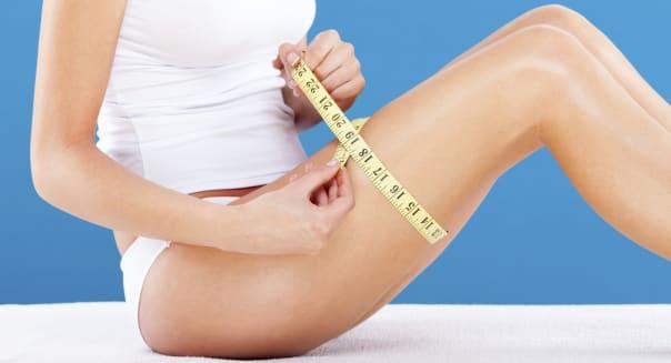 Slimming woman