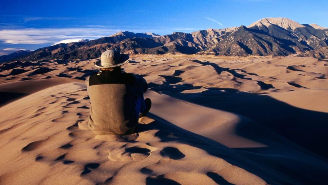 Sangre de Cristo Mountains from High Dune.