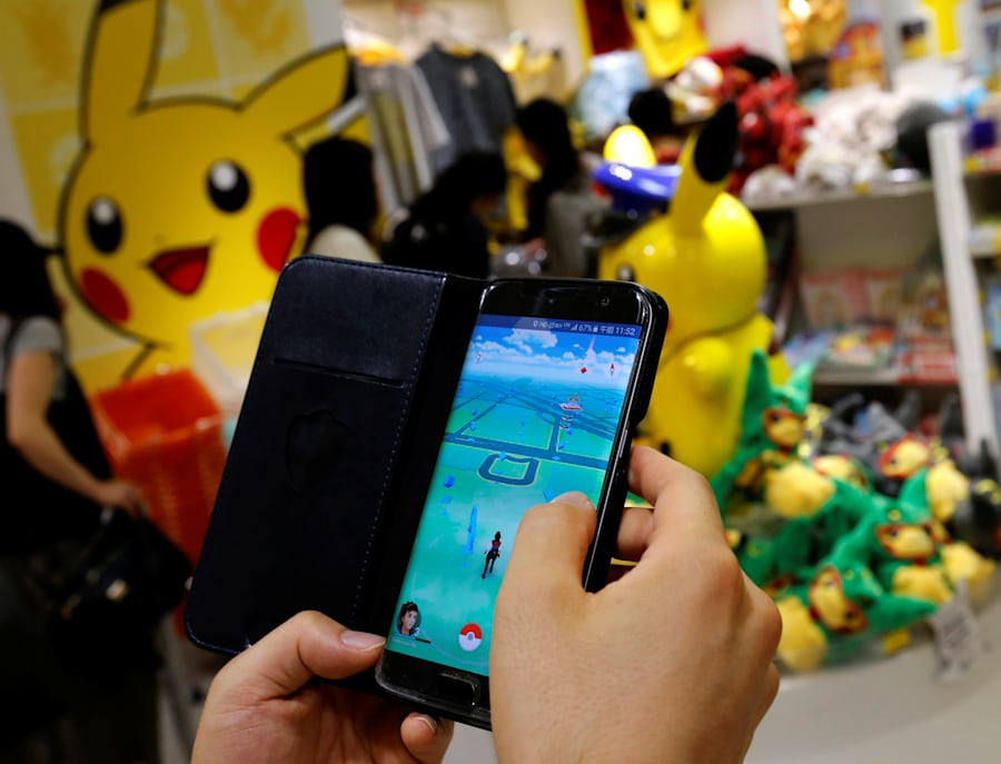 Pokemon Go window displays are a great way to bring attention to your