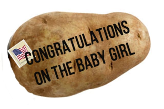 You can now send messages on a potato