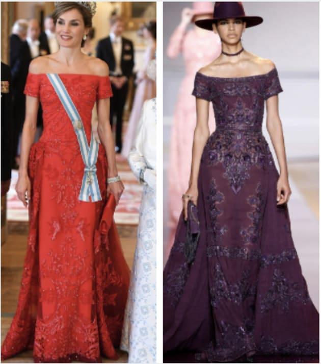 Vestidos de reina letizia