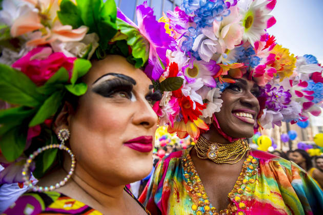 It was the 21st Annual Sao Paulo Gay Pride
