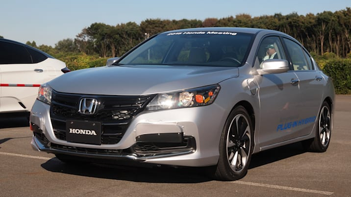 Honda PHEV Accord mule
