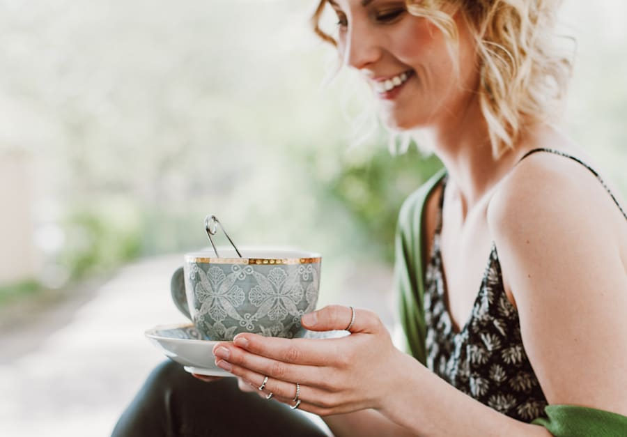 Licorice tea is naturally sweet and can help satisfy a sweet